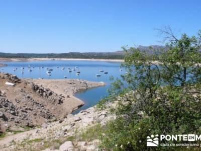 Senda Genaro - GR300 - Embalse de El Atazar - Embalse de Puentes Viejas - Presa de El Villar;